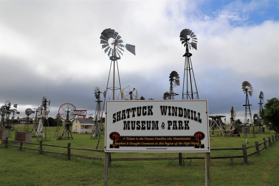Shattuck, Oklahoma – May 2019 – Windmill Museum