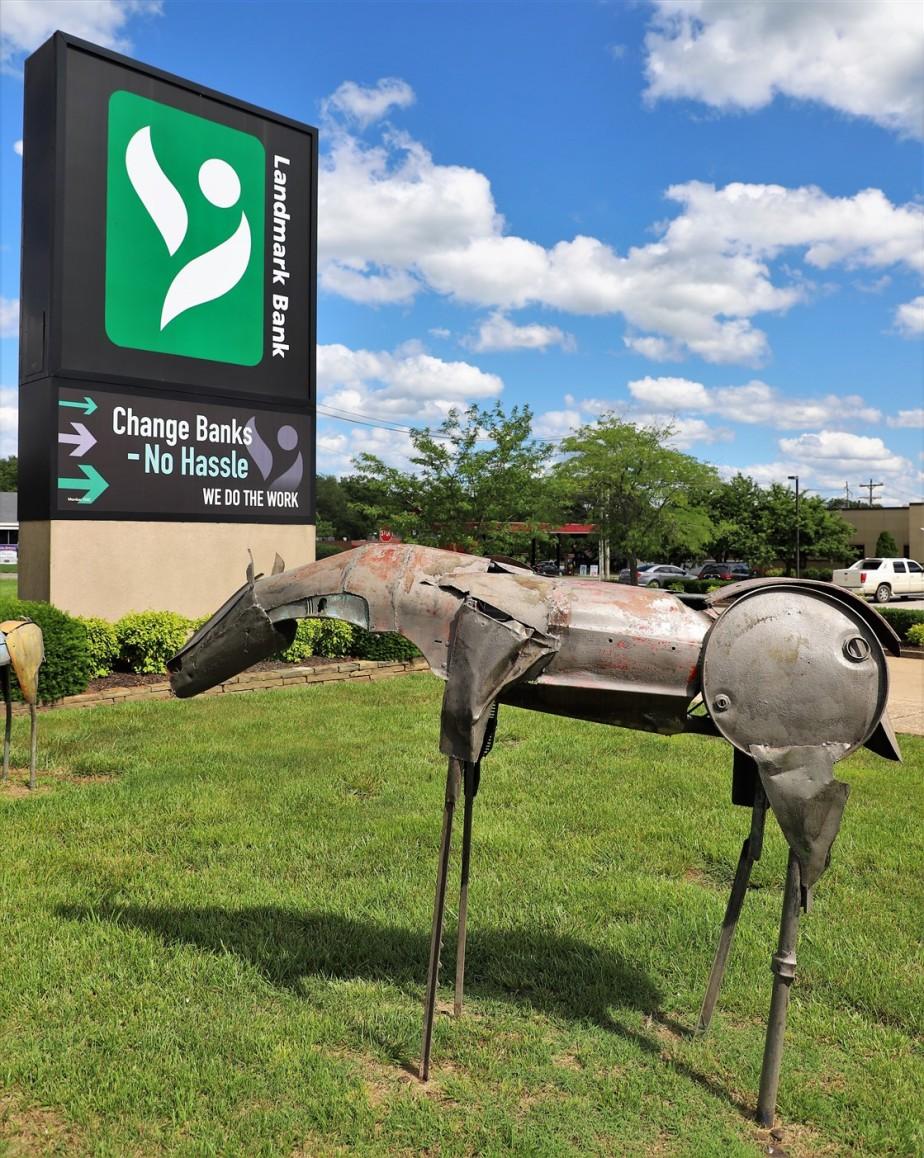 Mountain View, Missouri – May 2019 – Horsing Around at theBank
