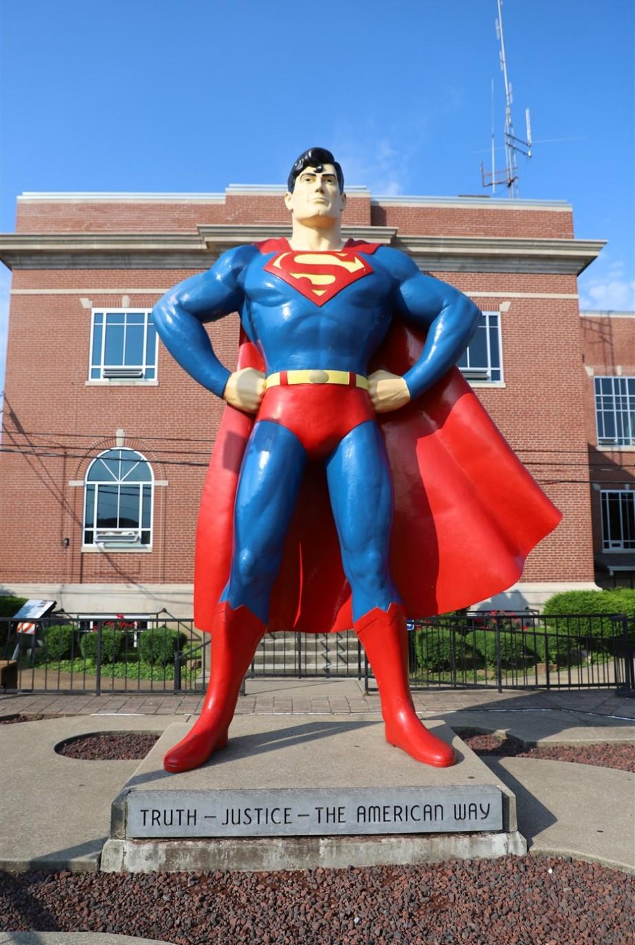 Metropolis, Illinois – May 2019 – Superman's Hometown