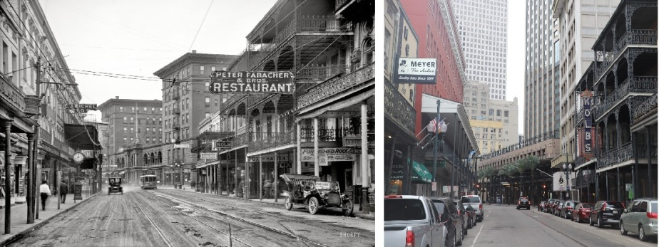 New Orleans – May 2019 – Then and Now