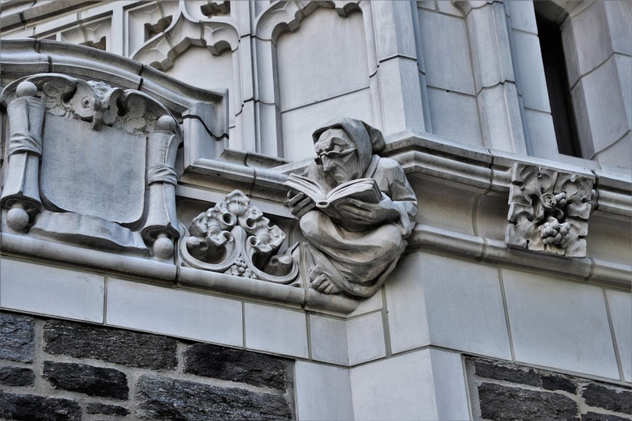 New York City – June 2019 – Architecture Details of CCNY