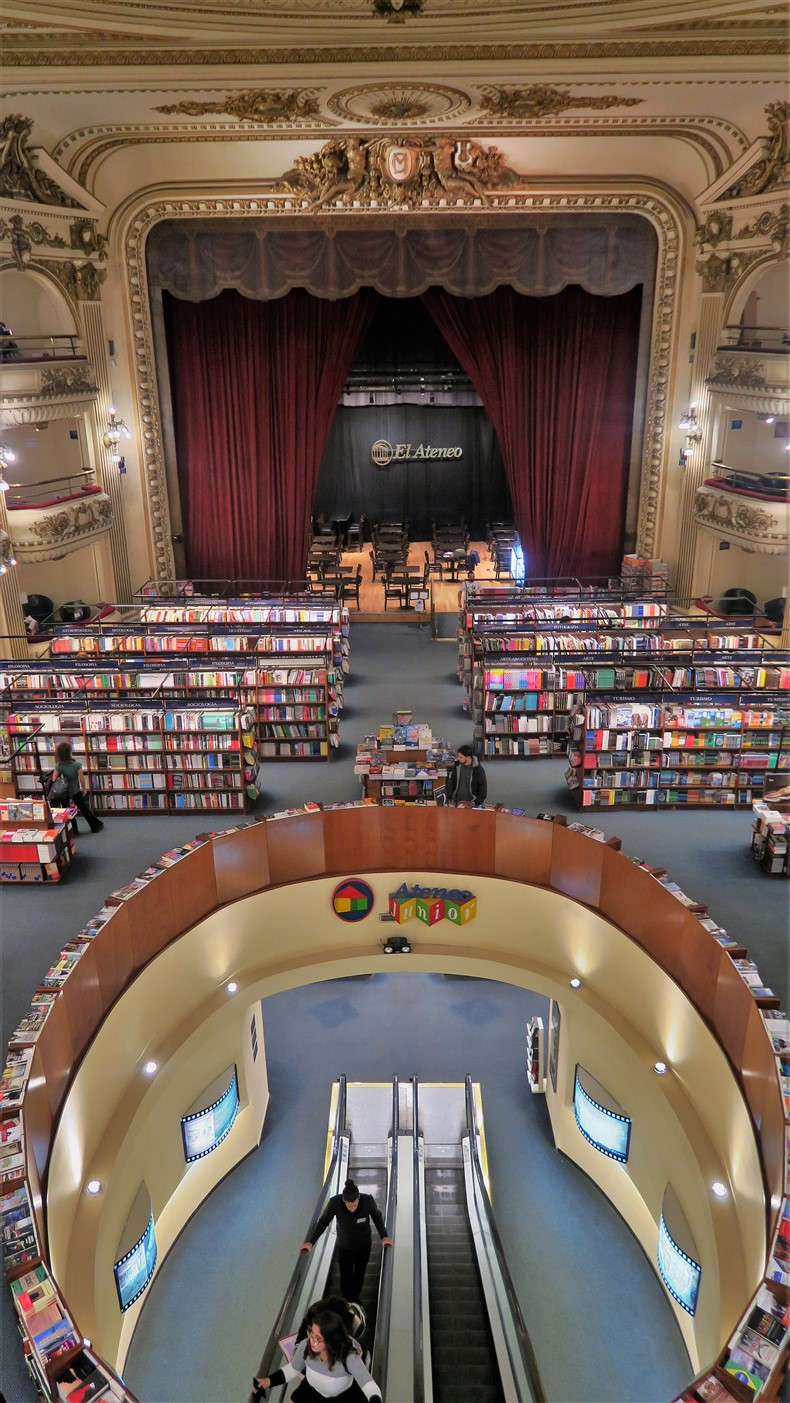 Buenos Aires – June 2019 – Most Beautiful Bookstore in theWorld