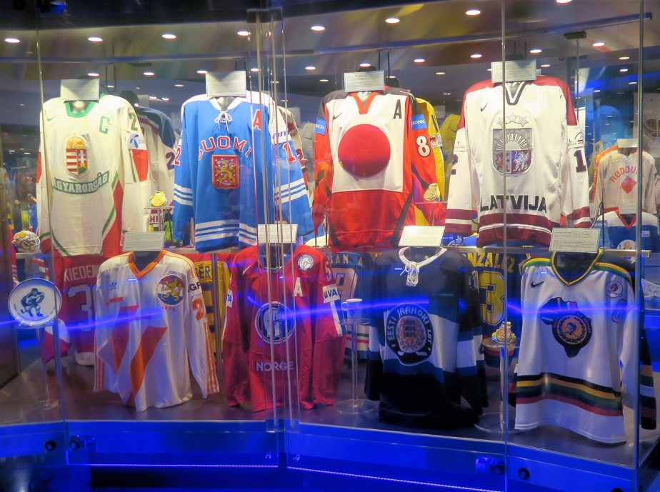 Toronto – July 2019 – Hall of Fame Hockey Jerseys (or Sweaters if you are Canadian)