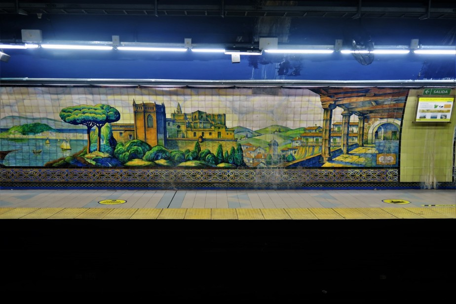 Buenos Aires – January 2020 – Station to Station Spanish History Tour in Art on theSubway