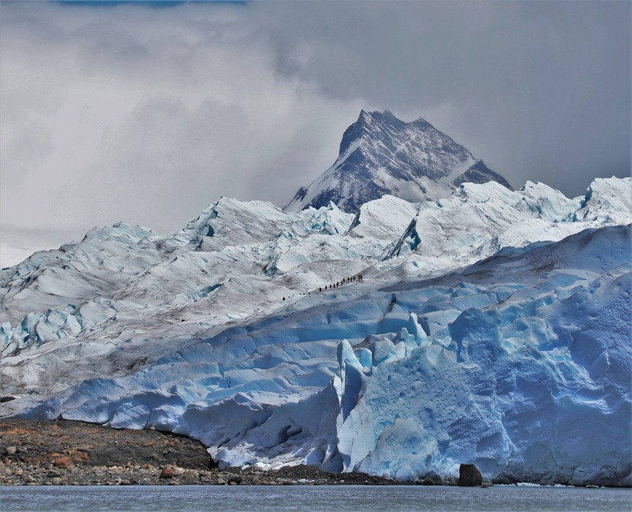 Los Glaciares National Park, Argentina – January 2020 – Hiking on a Glacier