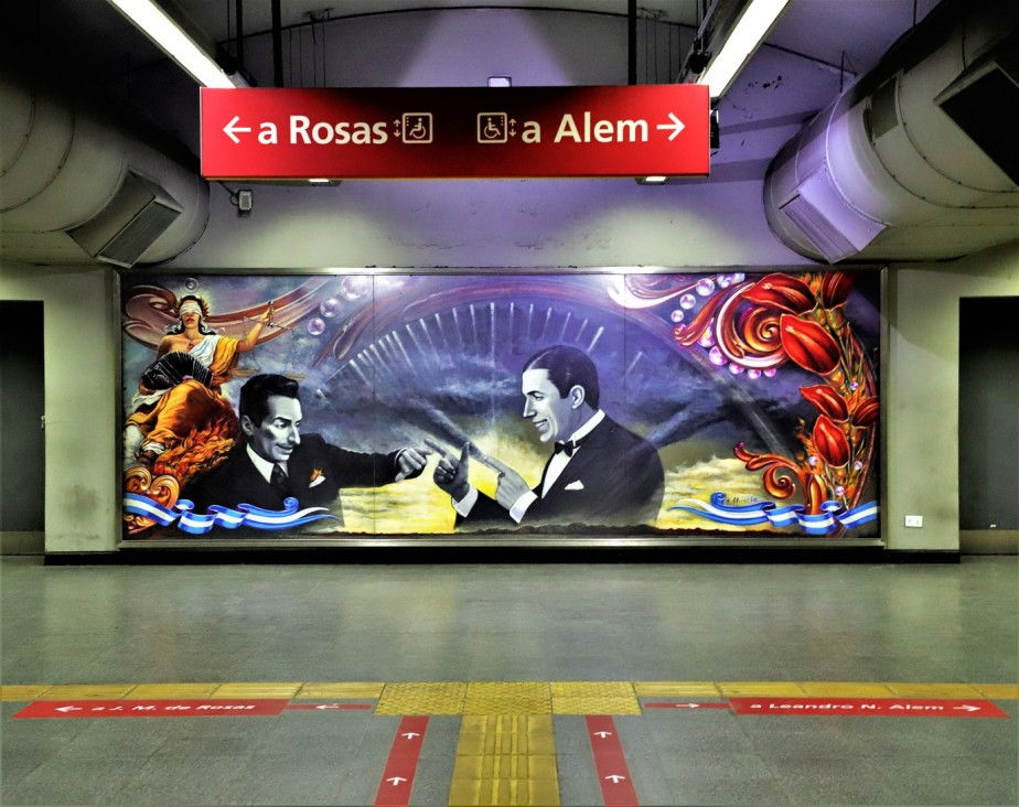 Buenos Aires – February 2020 – Tango-ing Through More Subway Art