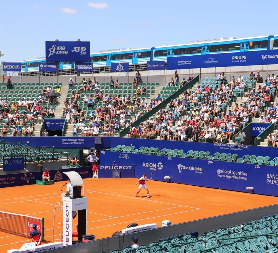 Buenos Aires – February 2020 – Scenes from a Professional Tennis Tournament
