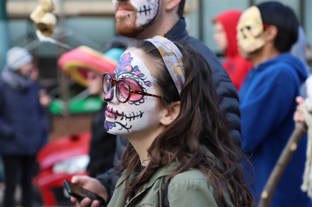 2018 11 03 262 Cleveland Day of the Dead Parade