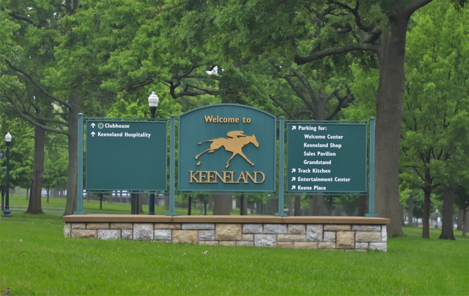 2019 05 12 22 Lexington KY Keeneland Racetrack.jpg