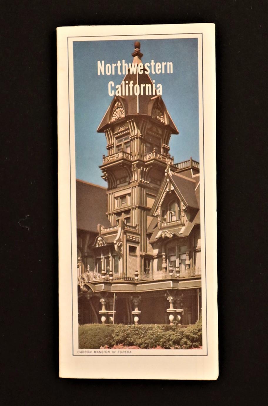 Auto Club California State Auto Association Northwestern California 1987