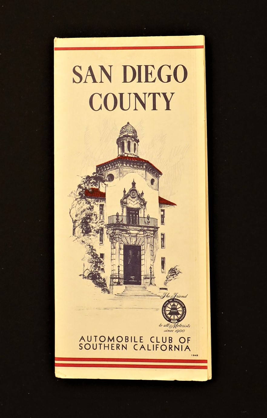 Auto Club SoCal San Diego County 1948