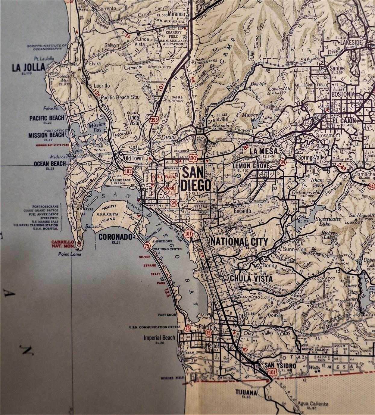 Auto Club SoCal San Diego County 1952 3