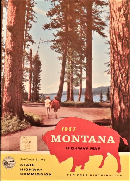 Government State Montana 1957