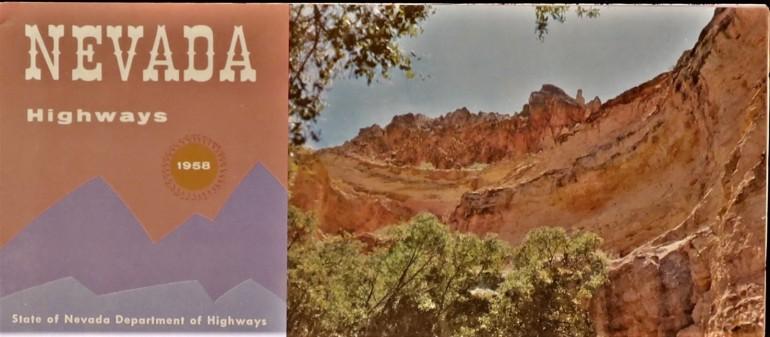 Government State Nevada 1958