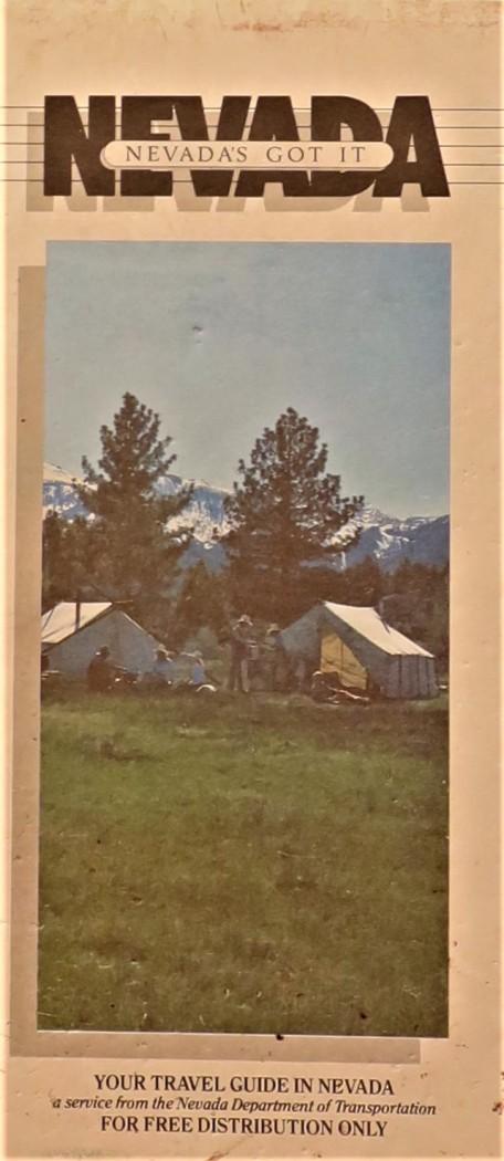 Government State Nevada 1985