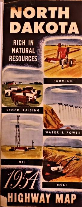 Government State North Dakota 1954