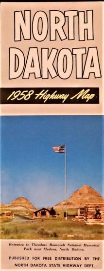 Government State North Dakota 1958