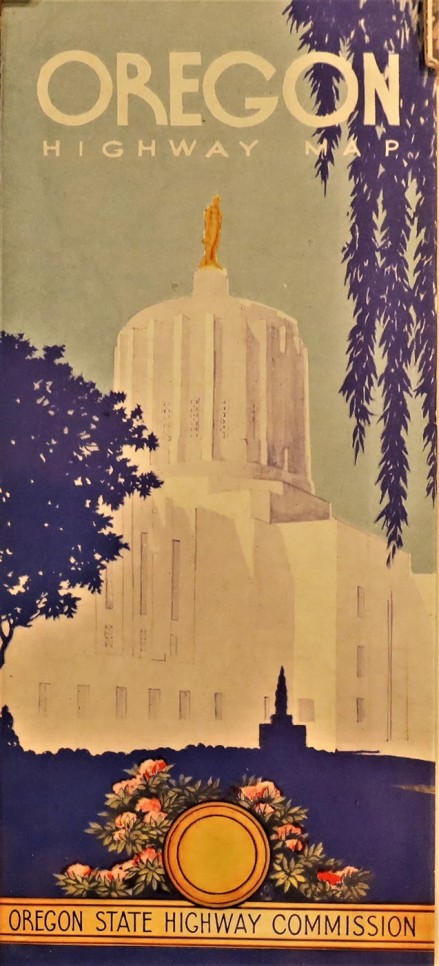 Government State Oregon 1958