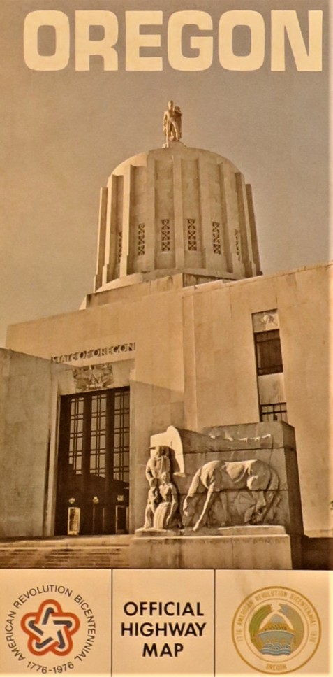 Government State Oregon 1975