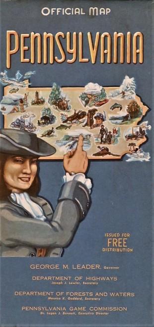 Government State Pennsylvania 1955