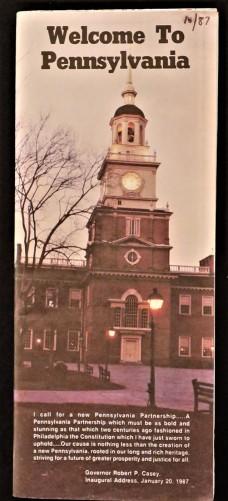 Government State Pennsylvania 1987