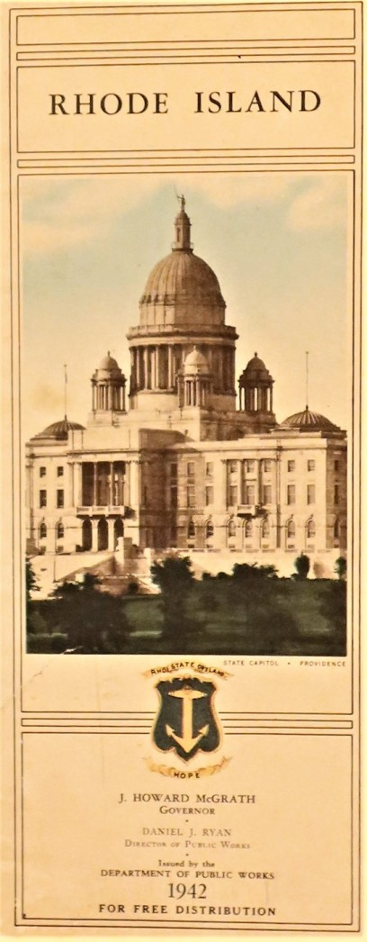 Government State Rhode Island 1942