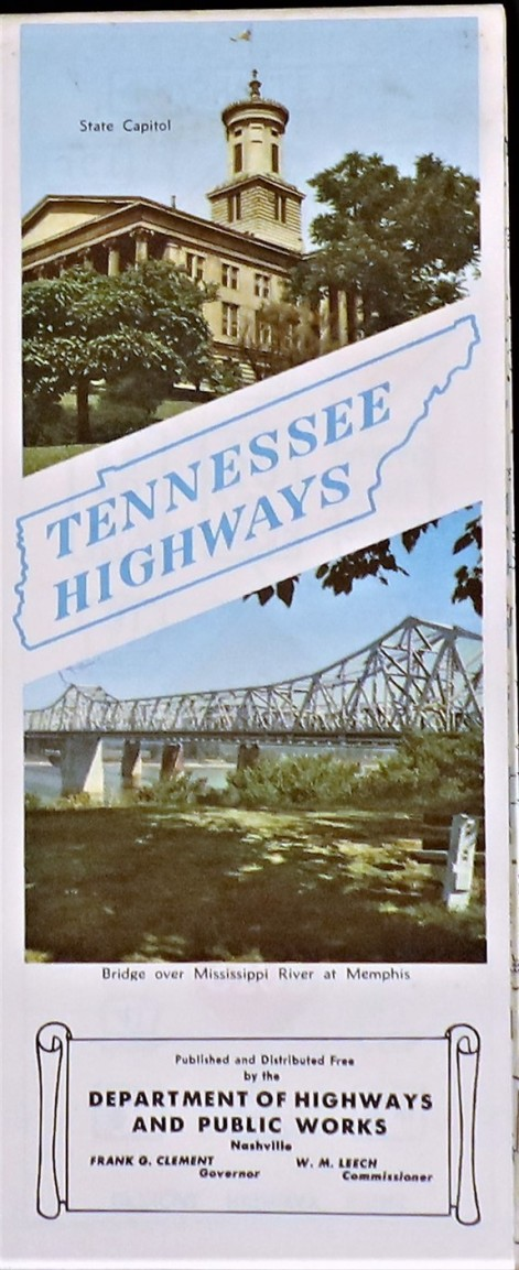 Government State Tennessee 1956