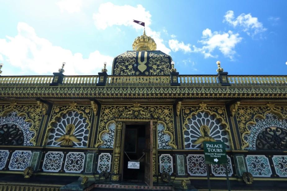 2017 07 02 22 New Vrindabad WV Palace of Gold