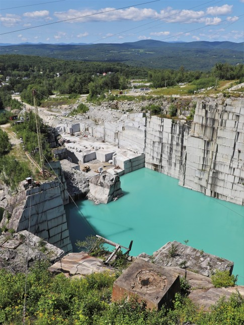 2019 08 01 88 Barre VT Rock of Ages Granite Quarry
