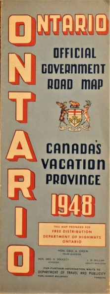 Government Province Ontario 1948