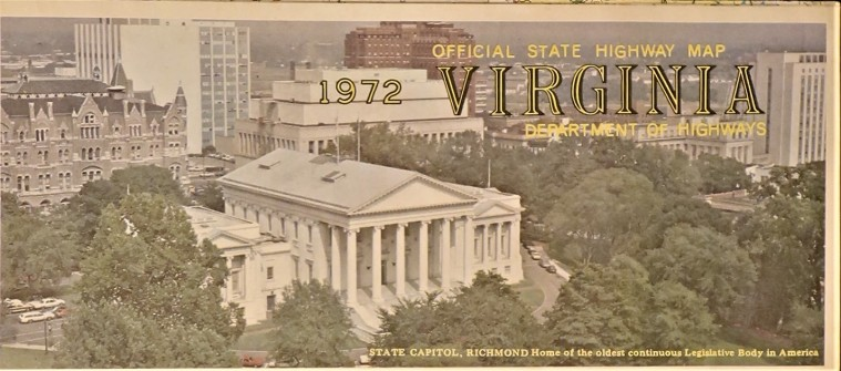 Government State Virginia 1972