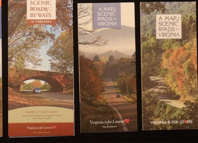 Government State Virginia Scenic Roads 1996 2013 2014