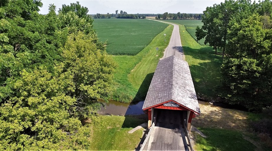 Union County, Ohio – August 2020 – Droning on About Bridges