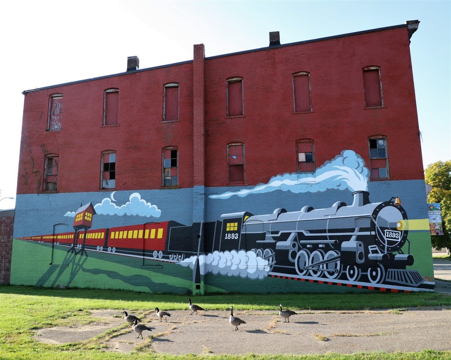 Mansfield, Ohio – September 2020 – Murals and Ghost Signs