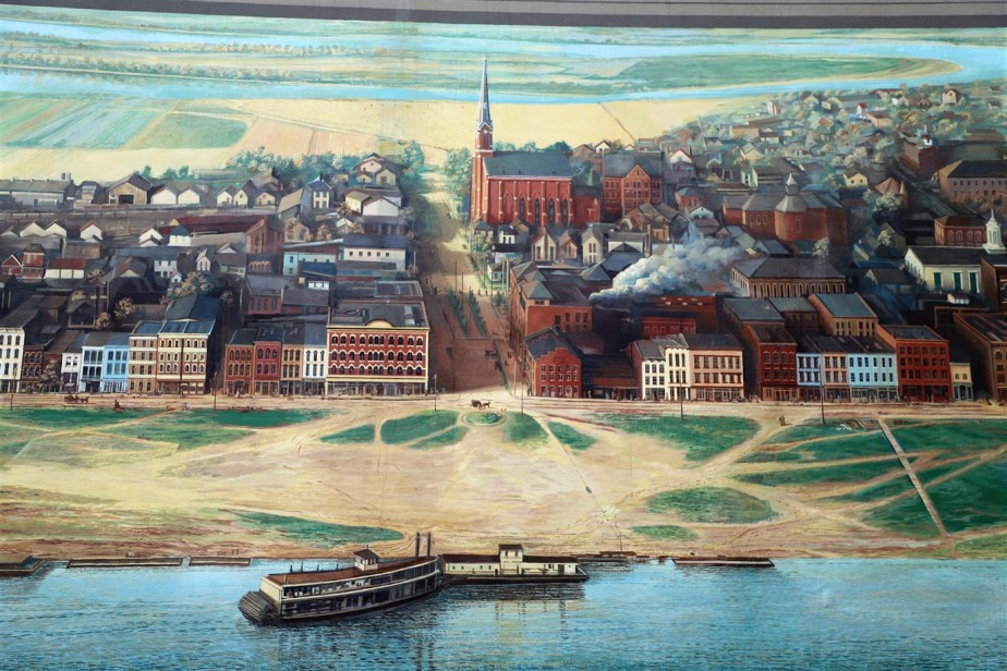 Portsmouth, Ohio – October 2020 – Floodwall Murals
