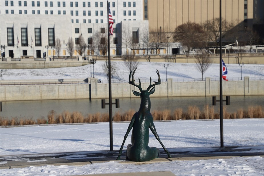 Columbus – February 2021 – Nosing Around Town in the Cold and Snow